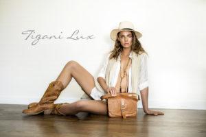 fashion editorial for Tigani Lux Summer Campaign By Donatella Parisini