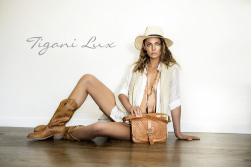 fashion editorial for Tigani Lux Summer Campaign By Donatella Parisini