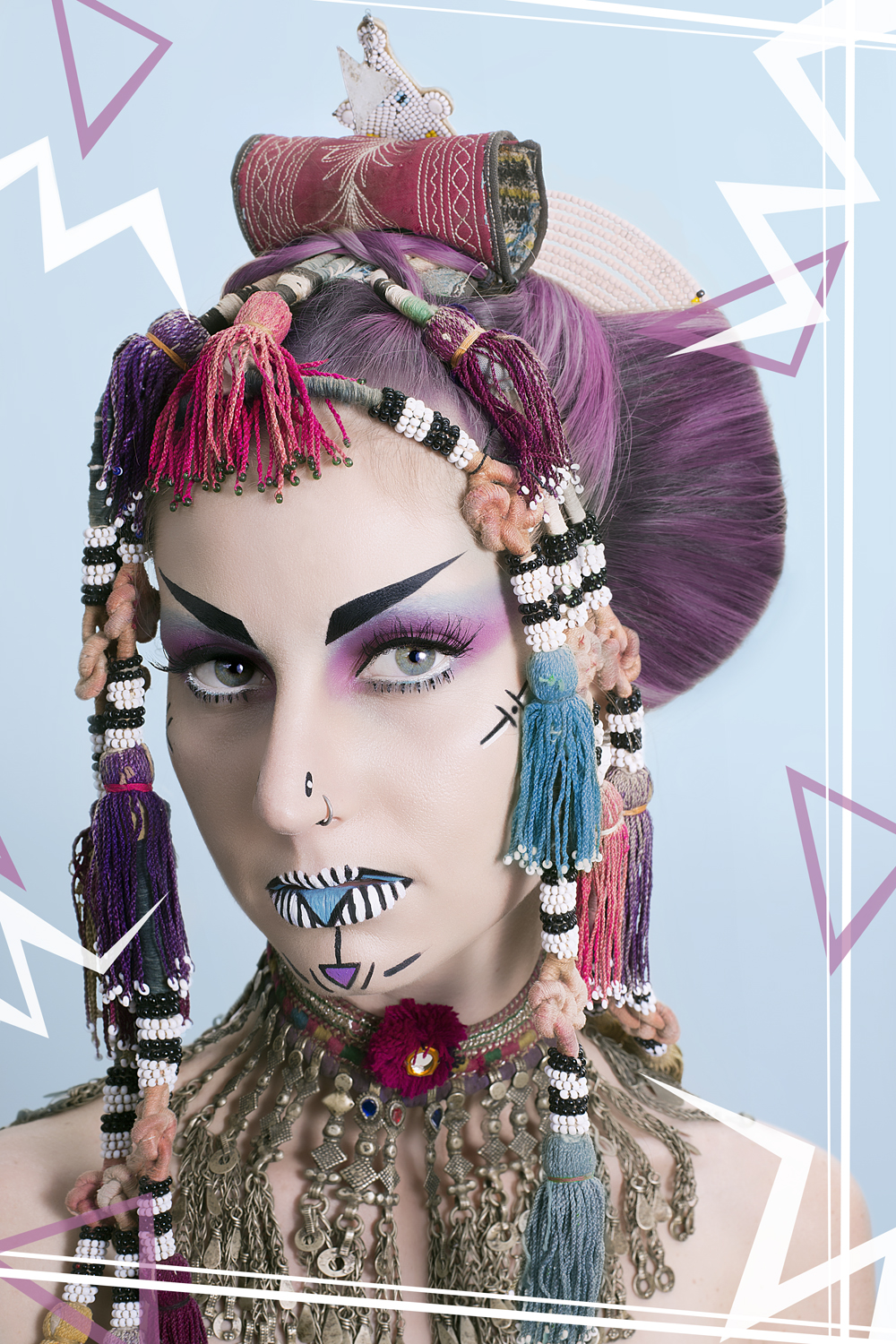 Culture Jam: Beauty Tribal Creative Makeup shoot for ...