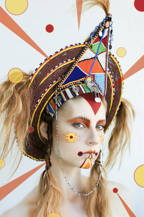 makeup art culture tribal in Byron Bay