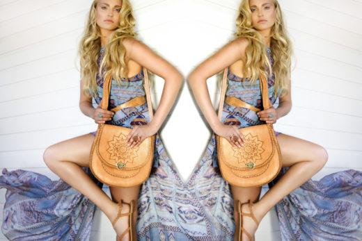 Naji model gorgeous for Tigani editorial