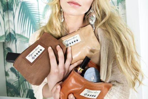 clutches leather closeup fashion