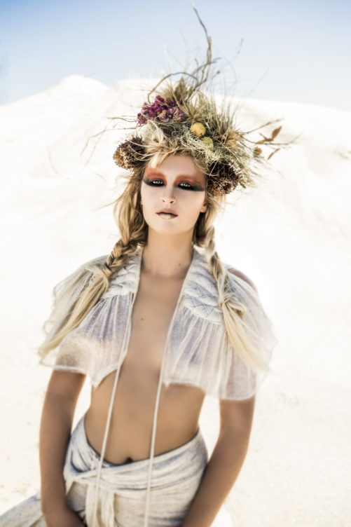 model photographed by the Byron Bay 's most unique fashion photography