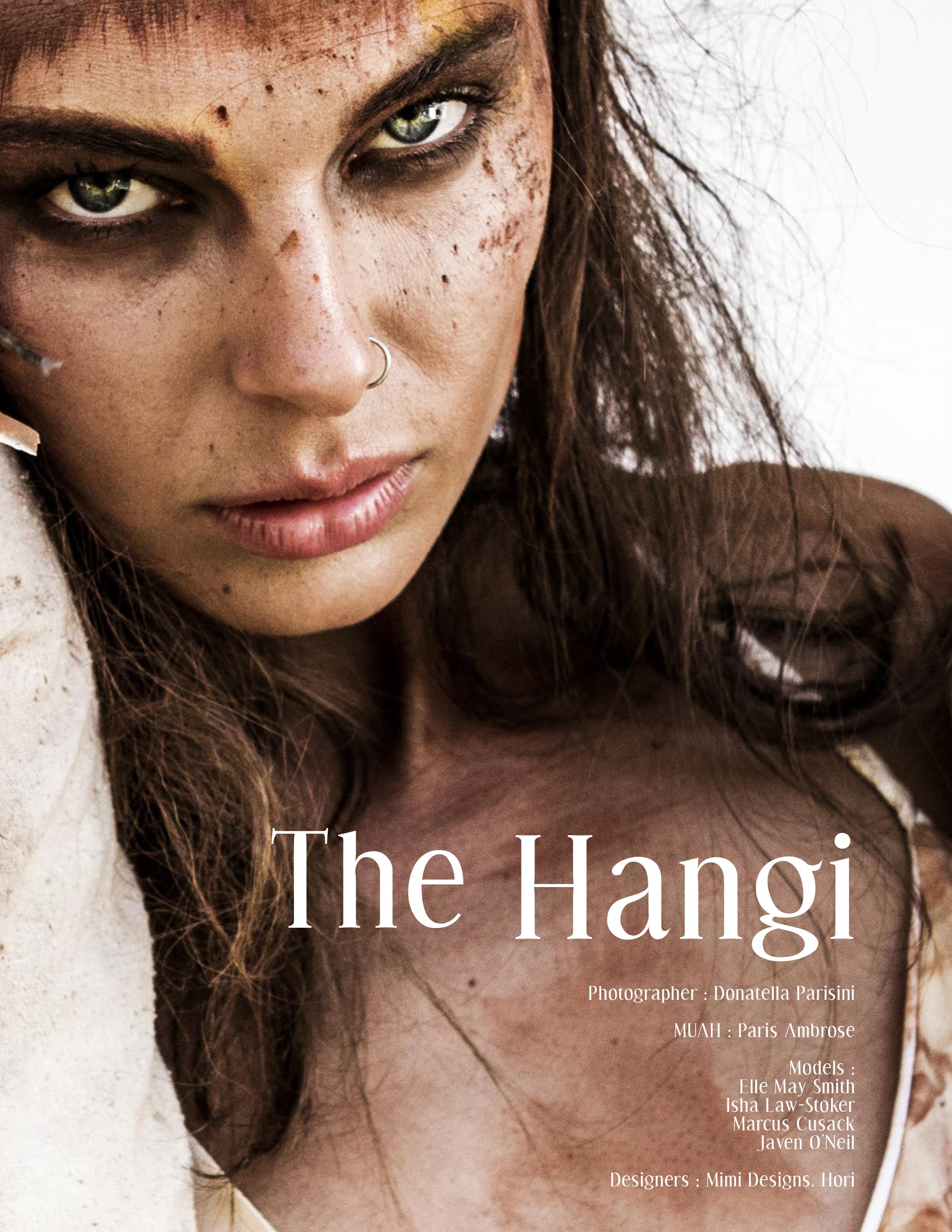 The Hangi ,Mimi Designs, Devour Magazine Stunning Model Portraits donatella parisini photography