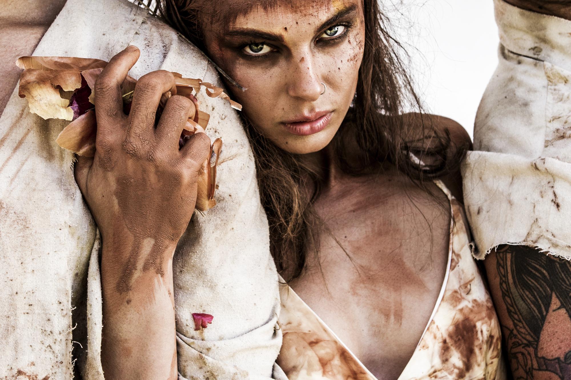beautiful fashion art model portrait donatella parisini photography