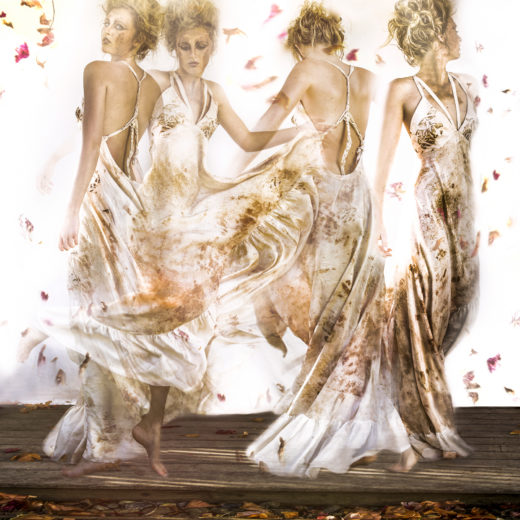 silk dress fashion art photography moving images editorial