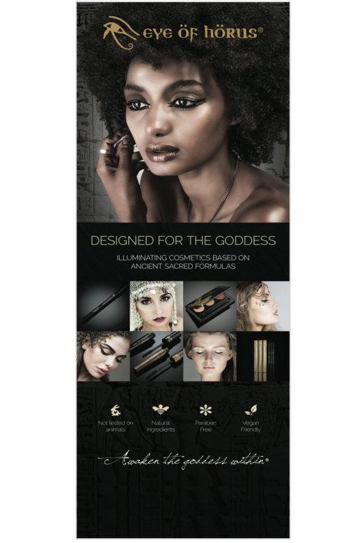 makeup eyeliner balck skin medel for beauty no animal tested