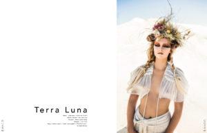 TerraLuna Editorial for Lisa Brown designs on Hacid magazine