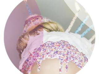 close up detail os Naji happy birthday girl makeup art creative portraiture