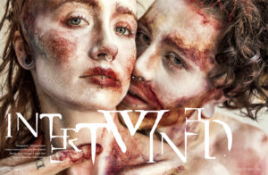 Intertwined ,Makeup Art Beauty for Voilition Mag