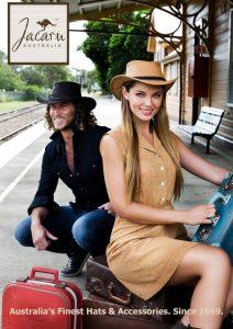 Fashion Cowboy hats,fedora models beautiful and gorgeous cap Editorial for Jacaru hats Australia by Donatella Parisini Photography