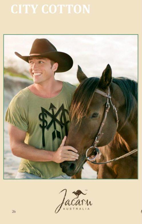 horse and man hat jacaru Donatella Parisini Fashion Photographer
