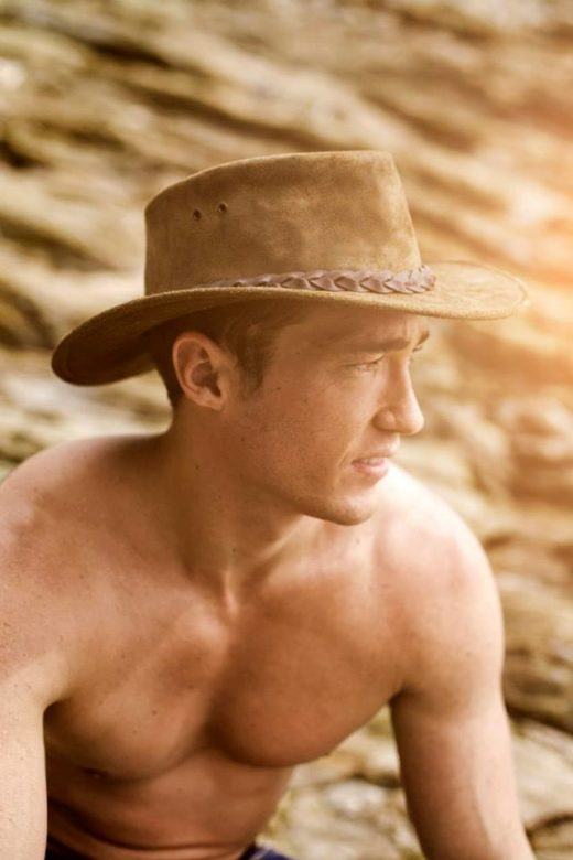 sexy man in hat
