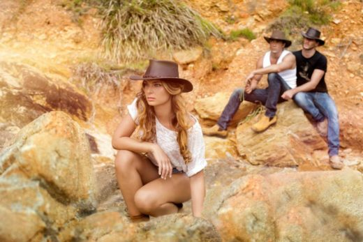 Fashion Photography in the Outback of gorgeous people Boho Editorial