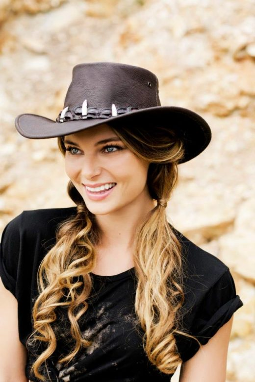 Fashion Photography of gorgeous Hat Model Editorial  Beauty