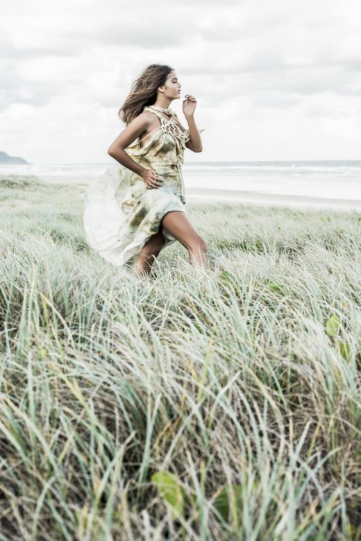 Photography Donatella Parisini by the beach dunes  Josie beauty