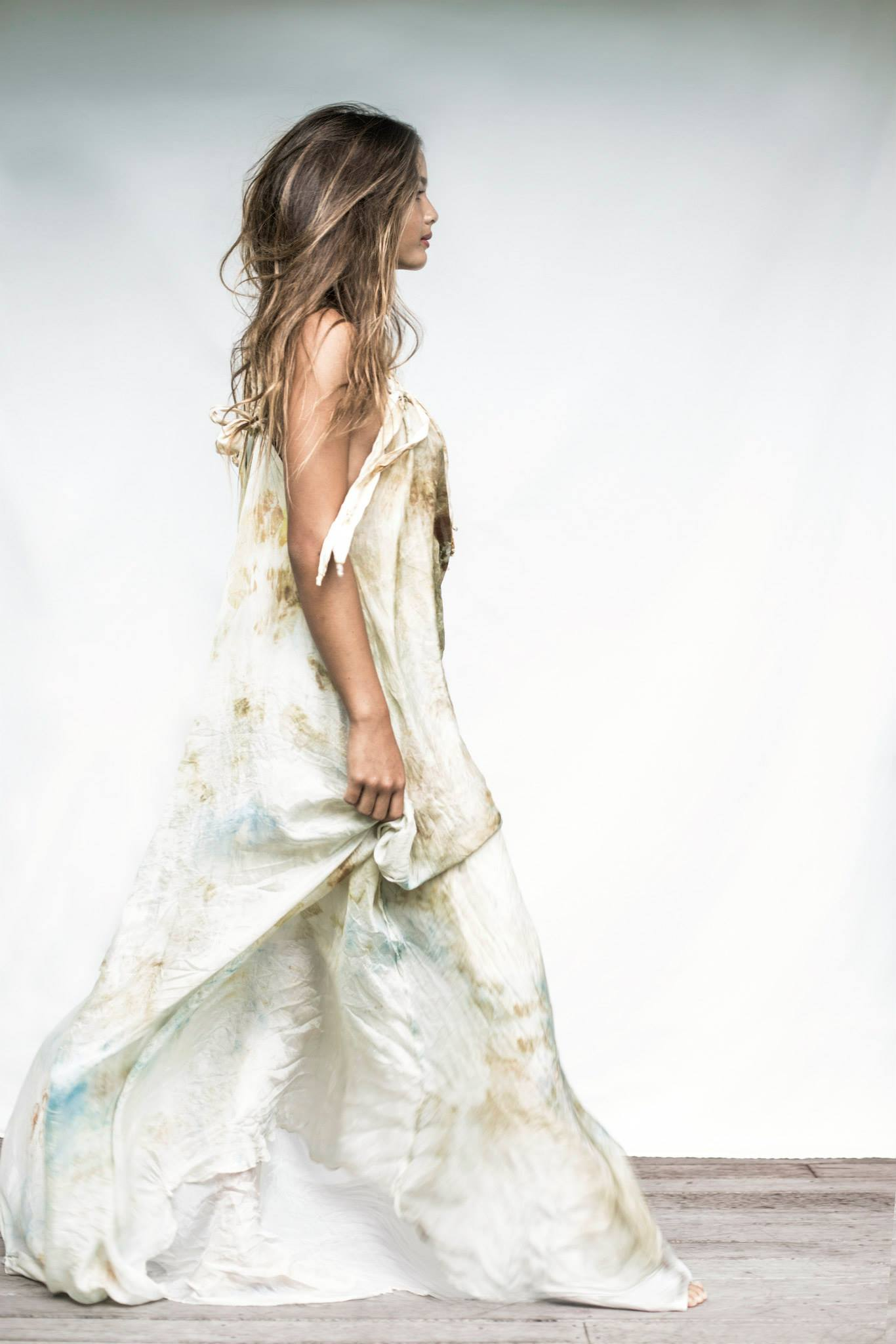 buried silk dress macrame Mimi Designs the top fashion image of the year in byron bay