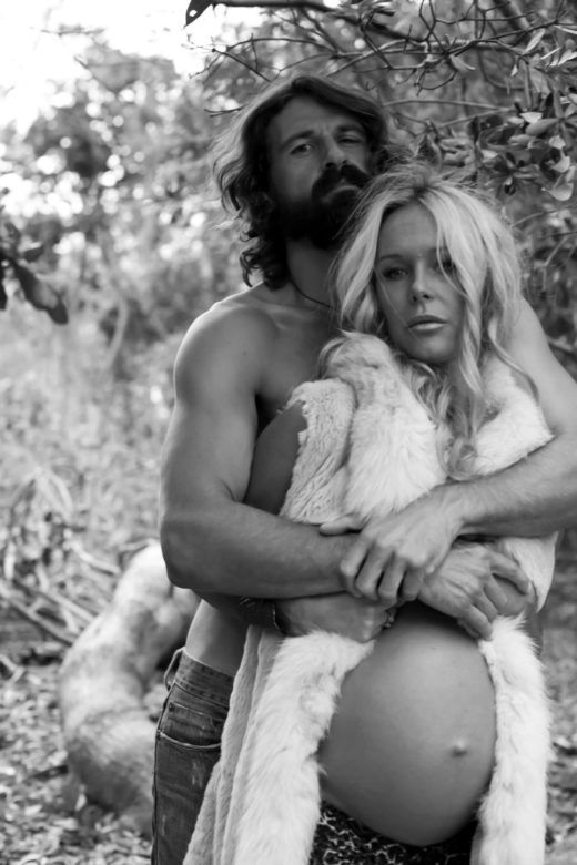 beautiful couple belly  Model Portraits