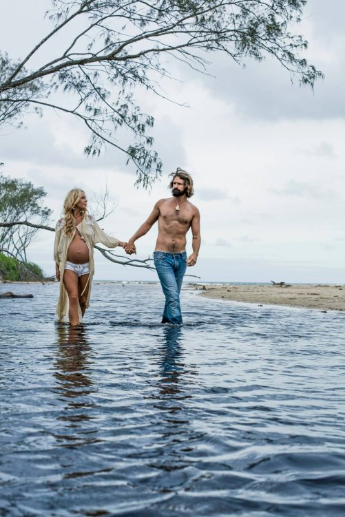mermaid pregnancy belly byron bay clothing