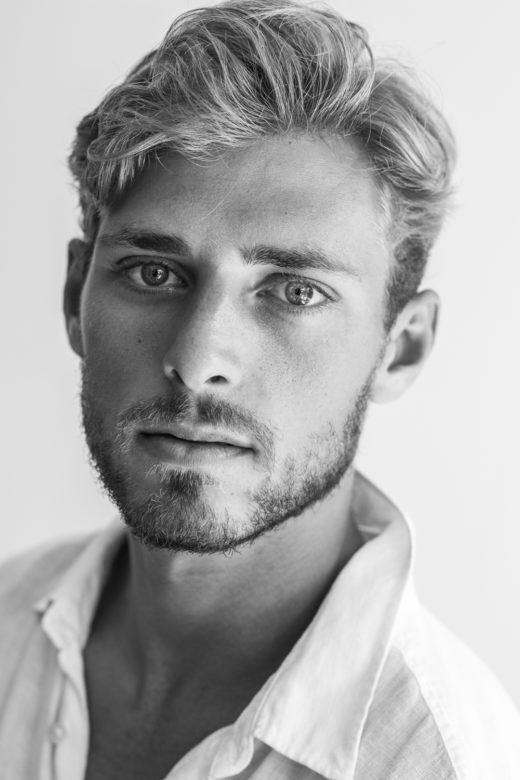 Male model's portfolio in ByronBay