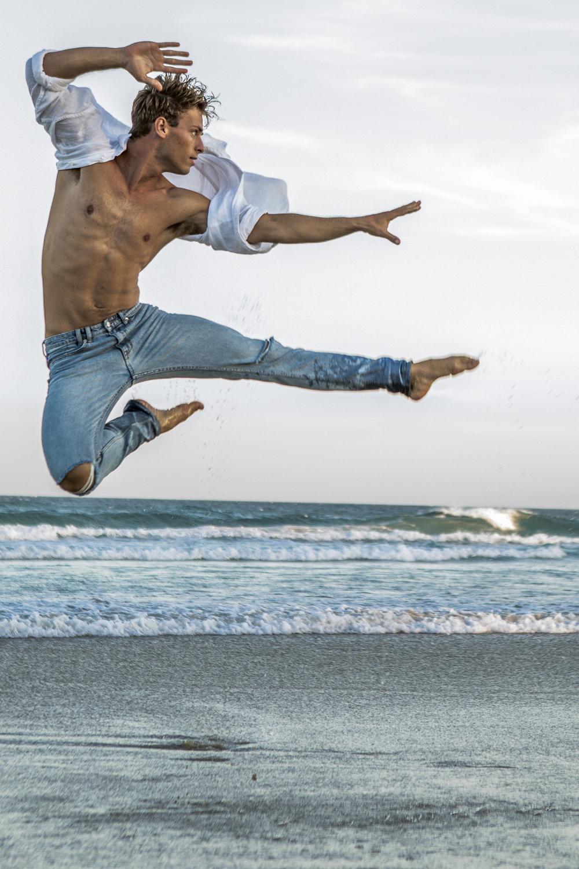 Jump High Dance Moves for Sam Curtis Modelling portfolio
