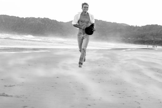 Beach and  Fitness Shots Sam Curtis Modelling portfolio