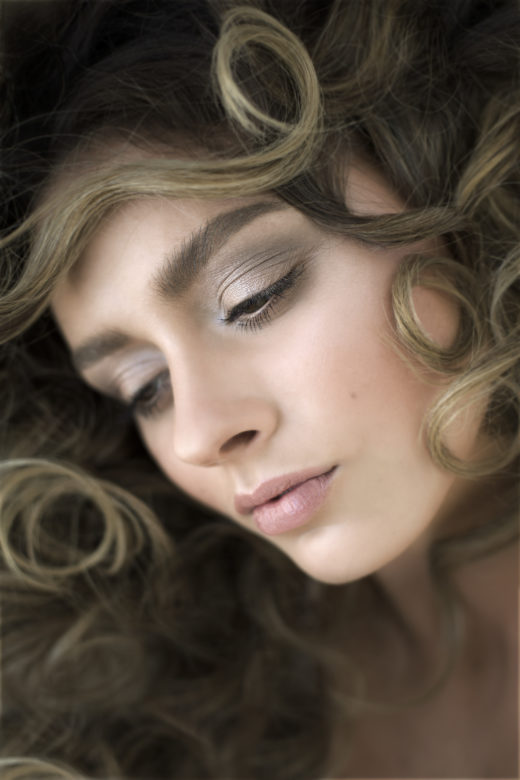 makeup natural on model for Byron bay's Most Popular beauty  Photographer