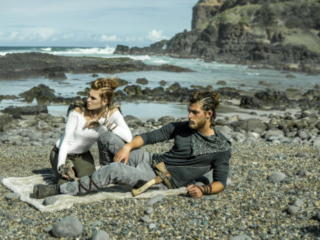 top 10 Best Fashion Vikings editorial at  Byron Bay Beach