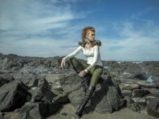 top 10 Best Fashion Vikings editorial at  Byron Bay Beach amazing hair