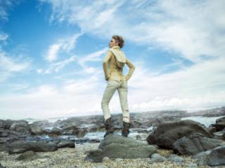 hot clothes  Fashion Vikings editorial at  Byron Bay Beach