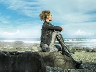 clean,bold,stunning Vikings editorial at  Byron Bay Beach