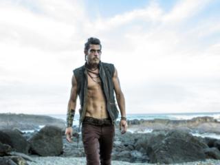 vikings like  fashion shoot with very hot male model